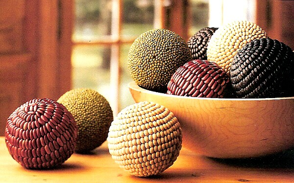 Decorative Bowl With Balls Amusing Bean Mosaic Bean Balls Design Inspiration